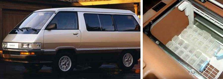 1984 Toyota Van Ice Maker