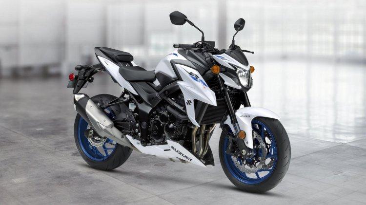 Suzuki Gsx S750 White 2019 Revealed Side Profile