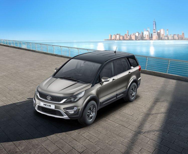 2019 Tata Hexa Dual Tone