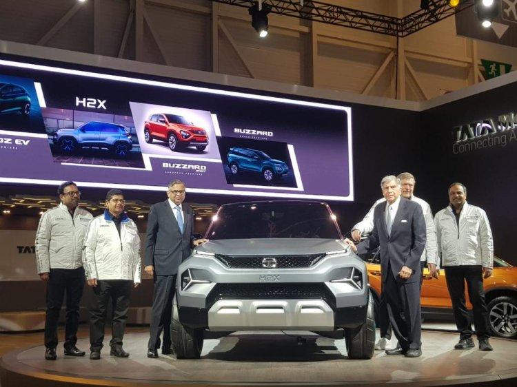 Tata H2x Concept Front