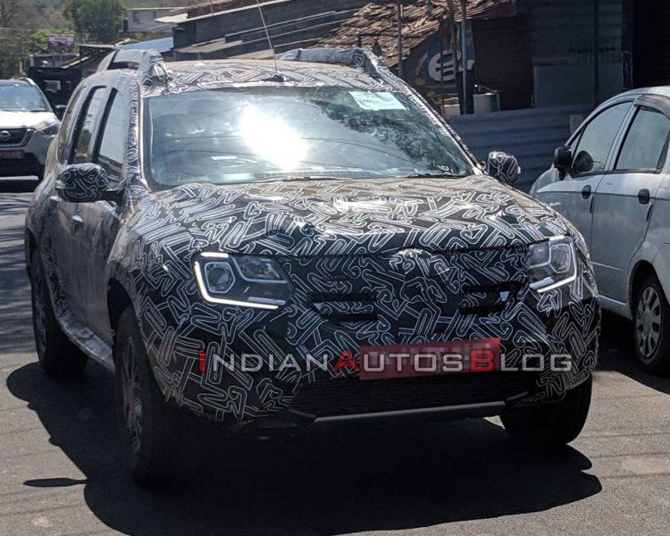 2020 Renault Duster Facelift Images Front Three Qu