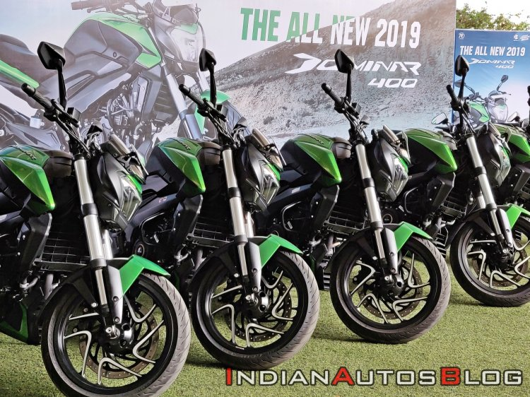 2019 Bajaj Dominar 400 Review Detail Shots 1