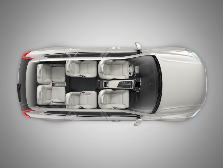 New Volvo Xc90 Facelift 6 Seat Configuration