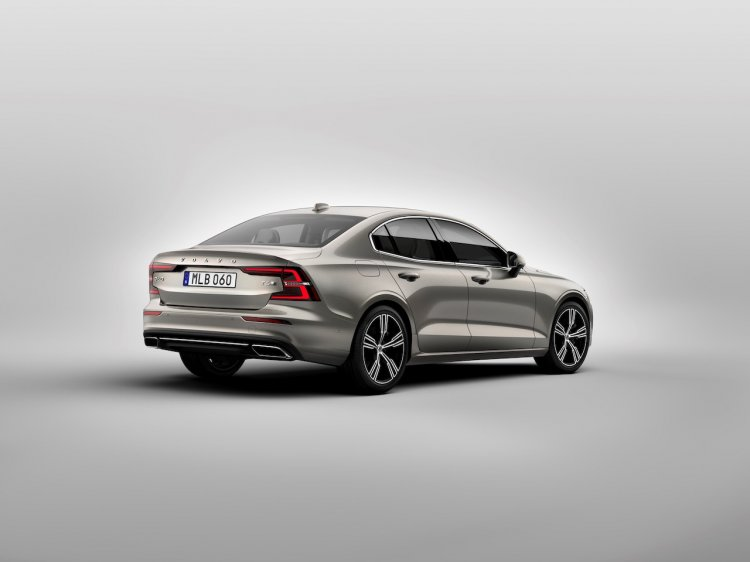 Third Gen Volvo S60 Rear Three Quarters