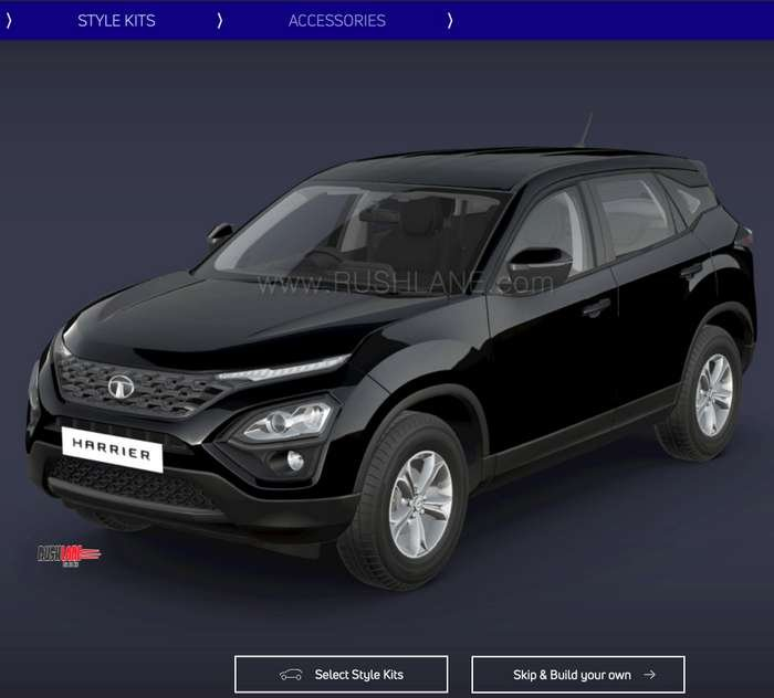 Tata Harrier Atlas Black
