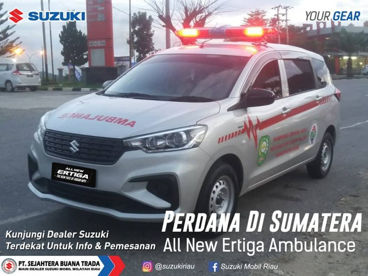 Suzuki Ertiga Ambulance Modification Indonesia
