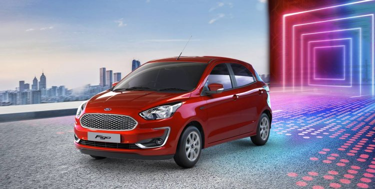 2019 Ford Figo Facelift Front Three Quarters Left