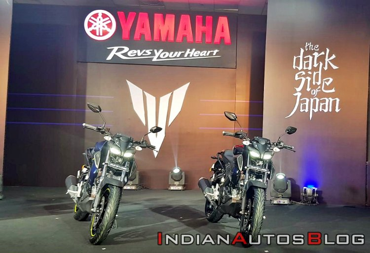 2019 Yamaha Mt 15 India Launch Front