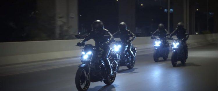 Yamaha Mt-15 Promotional Video Action Shot Left Fr