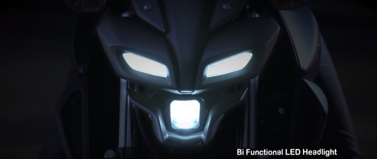 Yamaha Mt 15 Promotional Video Headlight