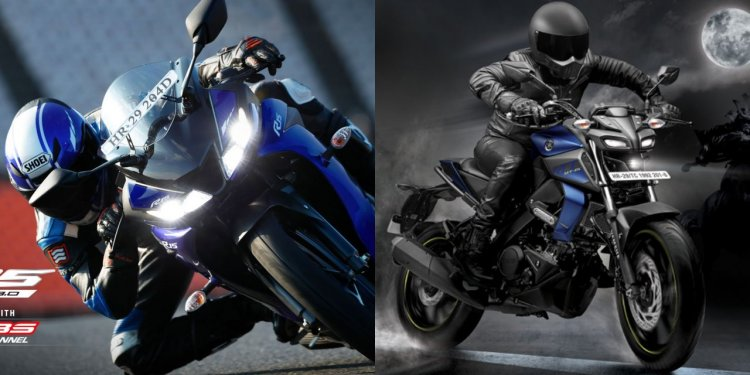 Yamaha Mt 15 Vs Yzf R15 Comparison Featured Image