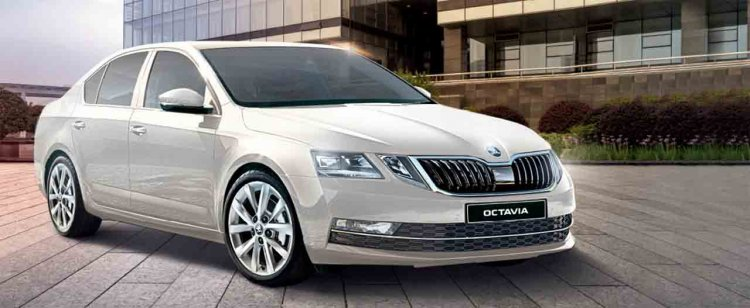 2019 Skoda Octavia Corporate Edition Images Fornt