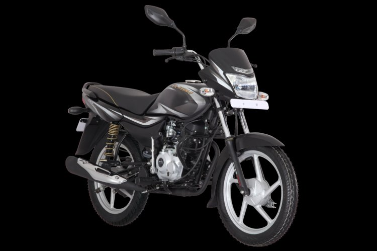 Bajaj Platina 100 Ks Cbs Ebony Black With Silver D
