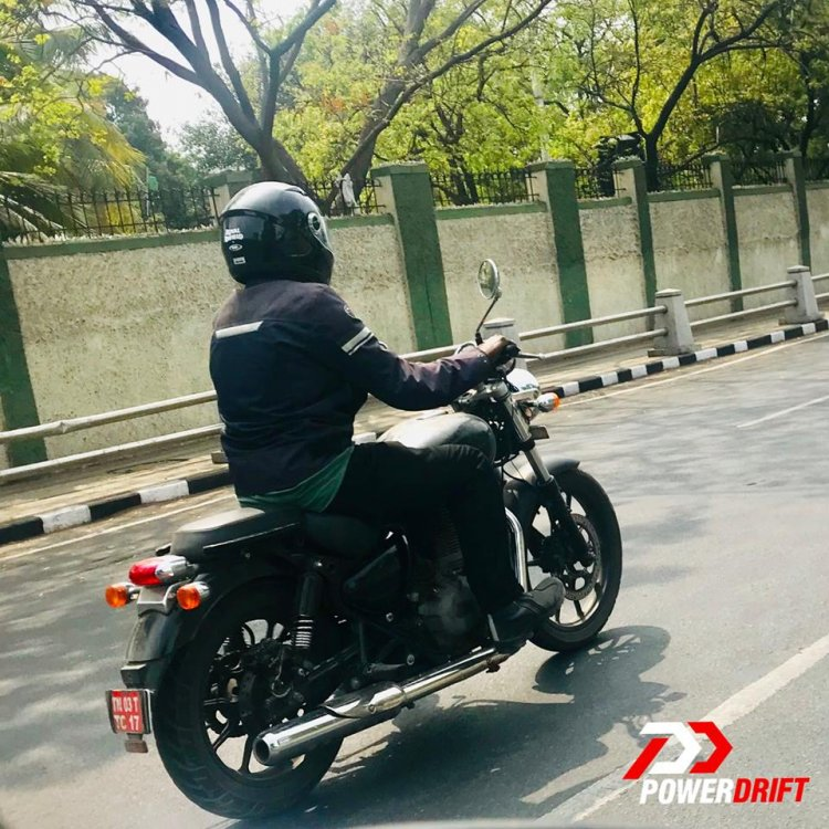Royal Enfield Thunderbird X Bs Vi Spied Right Rear