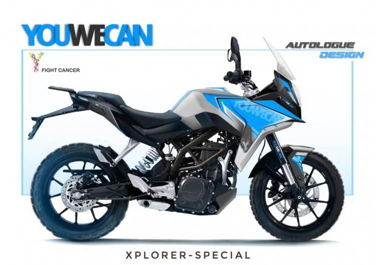 Autologue Design Xplorer Kit On A Ktm 390 Duke 7