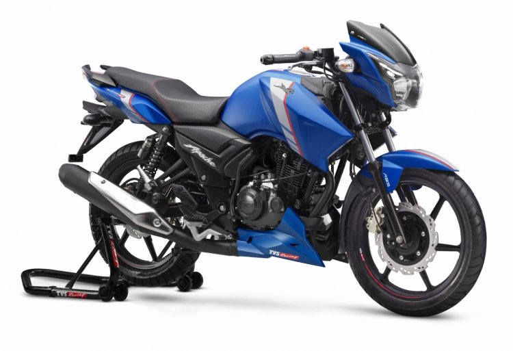 Tvs Apache Rtr 160 Abs Right Front Quarter