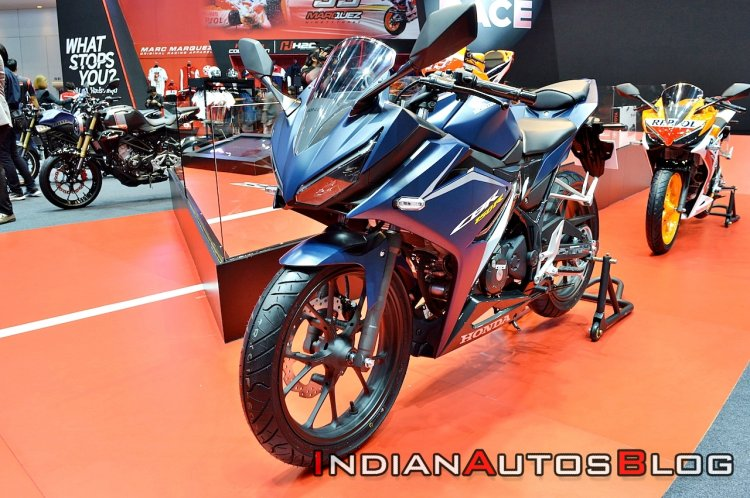 2019 Honda Cbr150r Facelift Blue Left Front Quarte