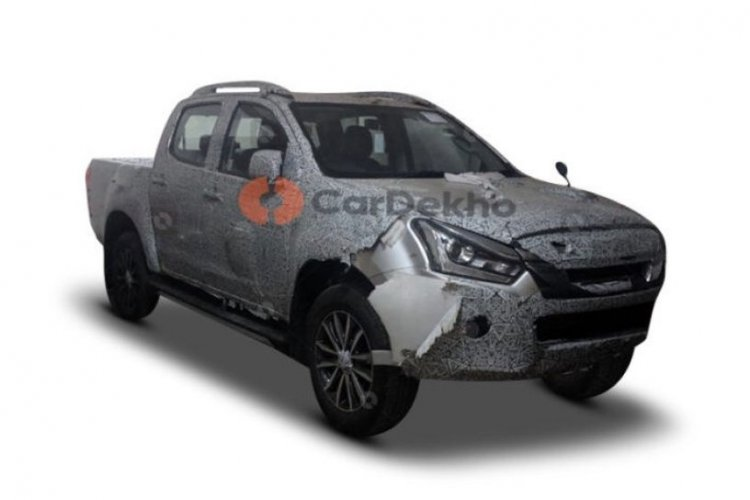 2019 Isuzu D-Max V-Cross Facelift Images Front Thr