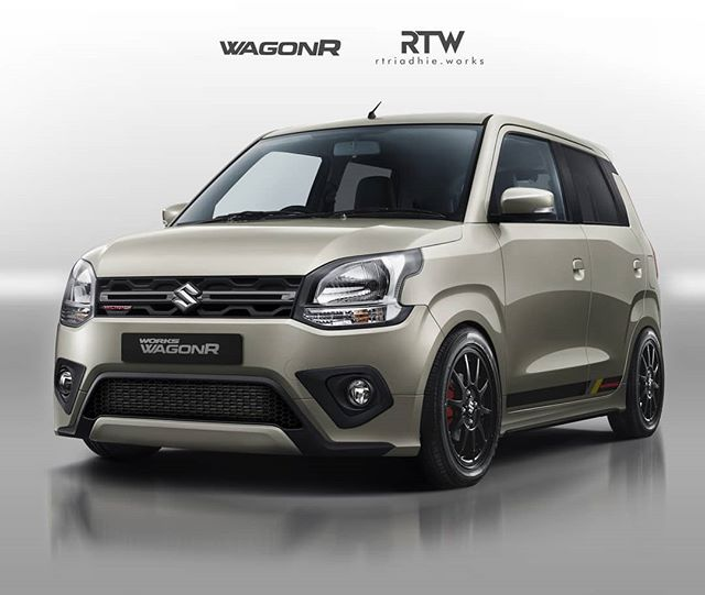 2019 Suzuki Wagon R Works Rendering Front Three Qu