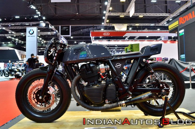 Royal Enfield Continental Gt Vayu Left