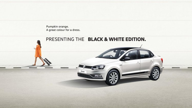 Vw Ameo Black White Edition