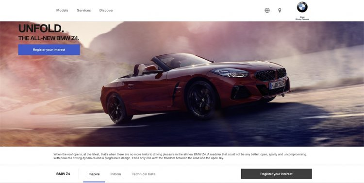 2019 Bmw Z4 India Website