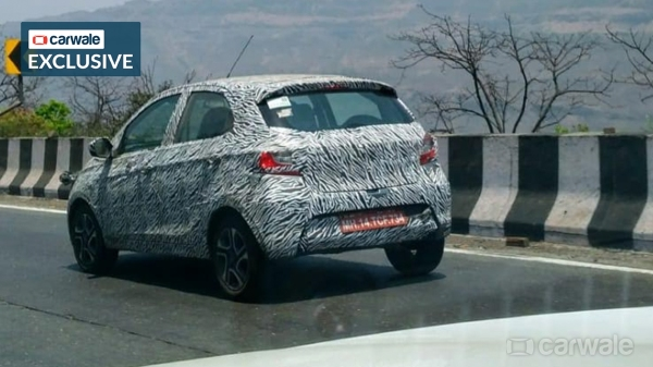 2020 Tata Tiago Facelift Images Rear Three Quarter