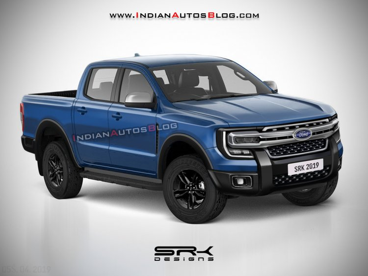Next Gen 2022 Ford Ranger Rendering