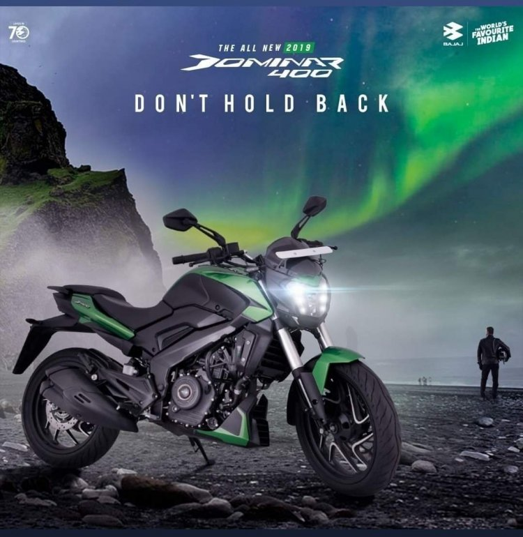 2019 Bajaj Dominar 400s Tagline Goes From Hyperrid