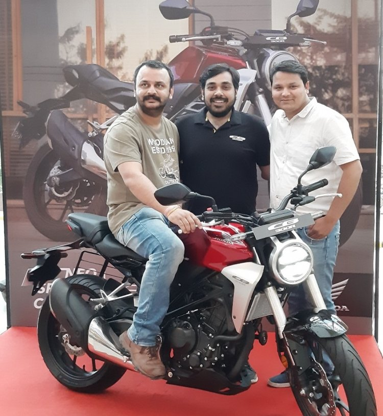 Honda Cb300r Deliveries Start Jaipur