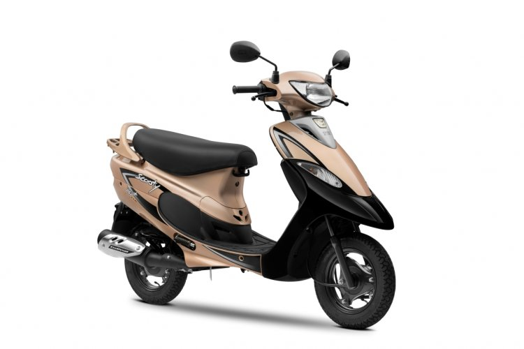 New Tvs Scooty Gold 25 Years