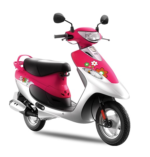 Scooty Pep Plus Princess Pink New