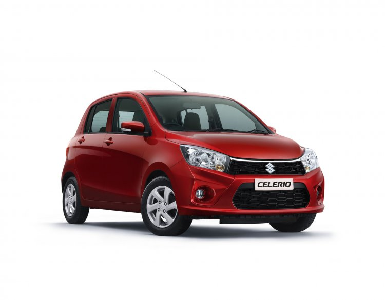 New Maruti Celerio Facelift Front Three Quarters