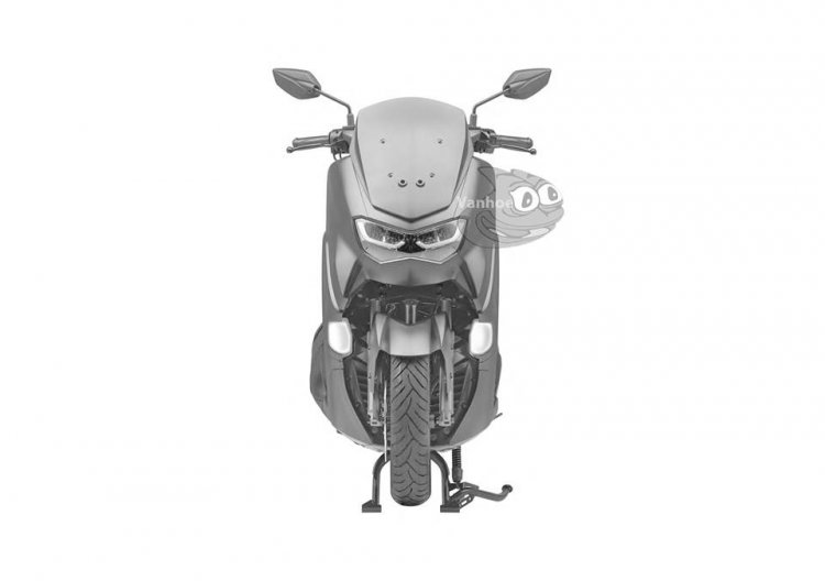 2019 Yamaha Nmax Leaked Patents Front
