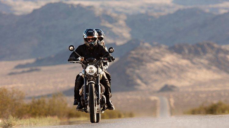 Triumph Scrambler 1200 Xc Riding Front