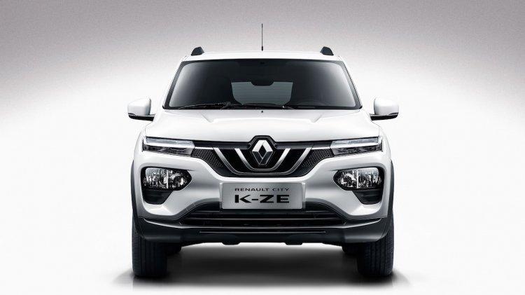Renault City K Ze Renault Kwid Ev Front