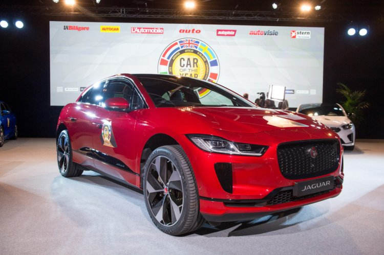 Jaguar I Pace Front Three Quarters