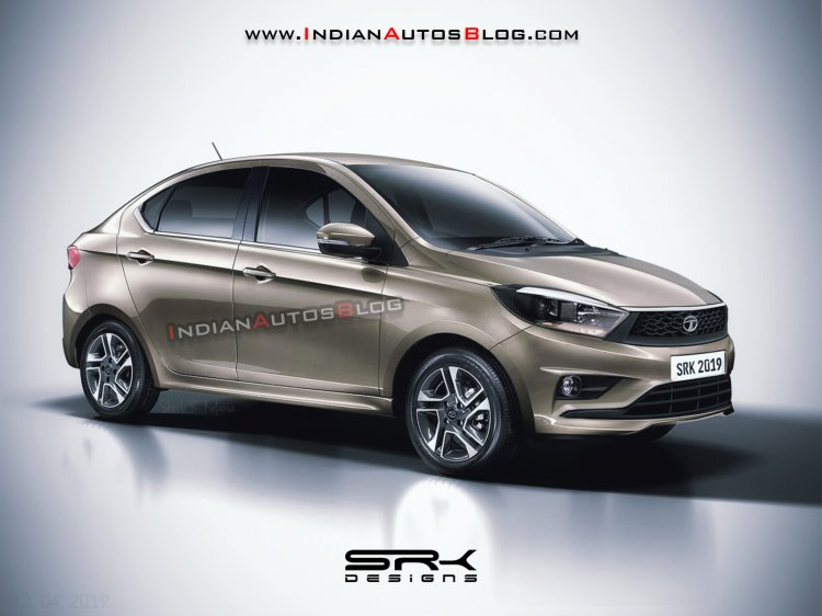 2020 Tata Tigor Facelift Front Three Quarters Rend