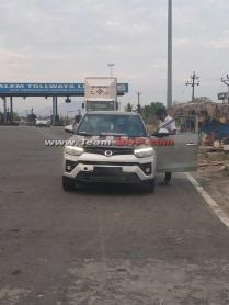 2019 ssangyong tivoli spy image front