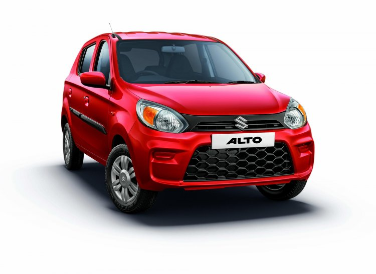 2019 Maruti Alto Facelift Front Three Quarters