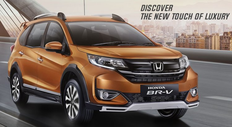 2019 Honda Br V Facelift Front Three Quarters