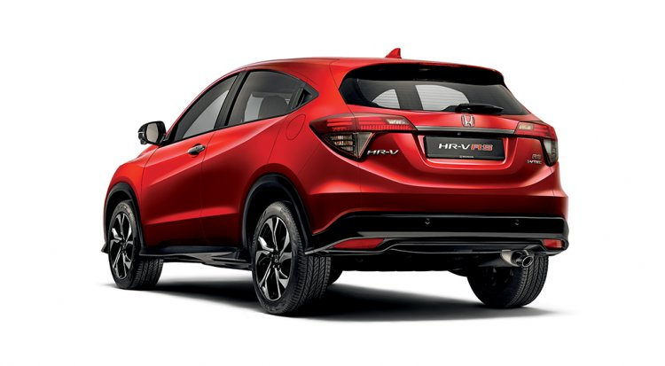 Honda Hr V Rear Three Quarters