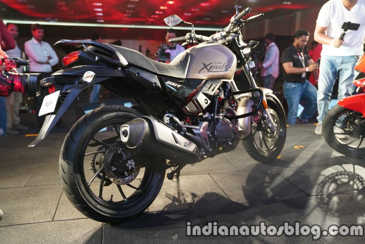 Hero Xpulse 200t Launched In India Right Rear Quar