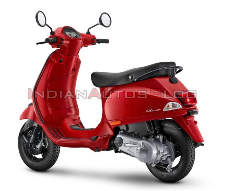 Vespa Urban Club 125 Left Rear Quarter