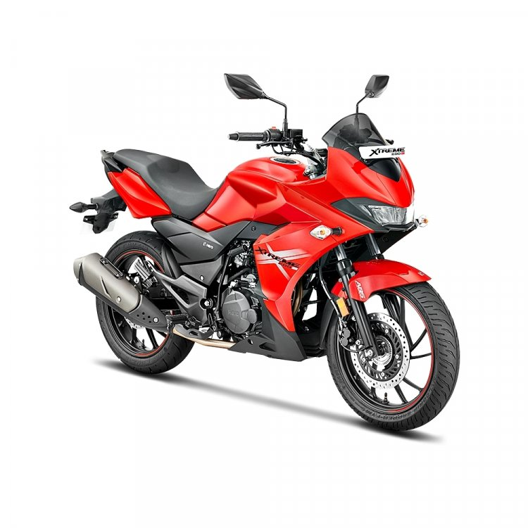 Hero Xtreme 200s Official Images Right Front Quart