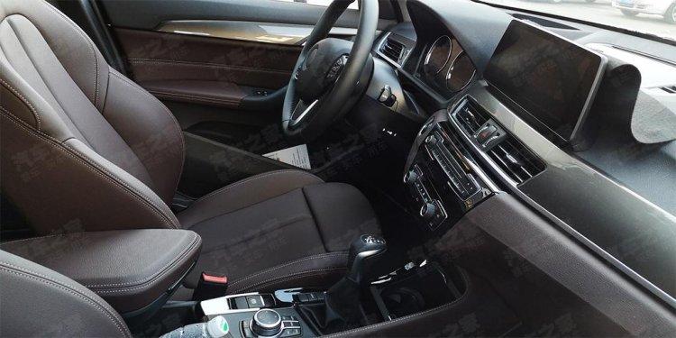 2019 Bmw X1 Facelift Interior Spy Shot