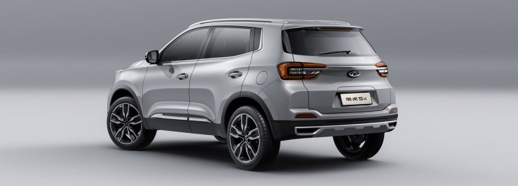 Chery Tiggo 5x Rear Three Quarters