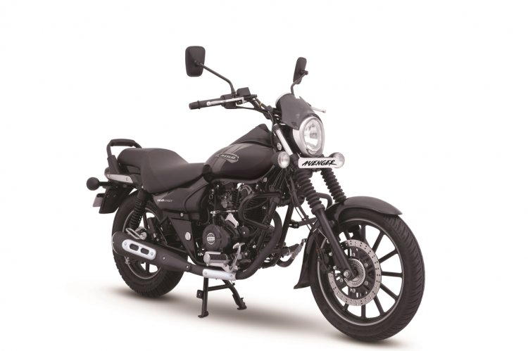 Avenger Street 160 Abs Ebony Black Right Front Qua