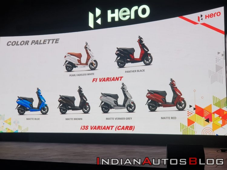 Hero Maestro Edge 125 Launched In India Colour Opt