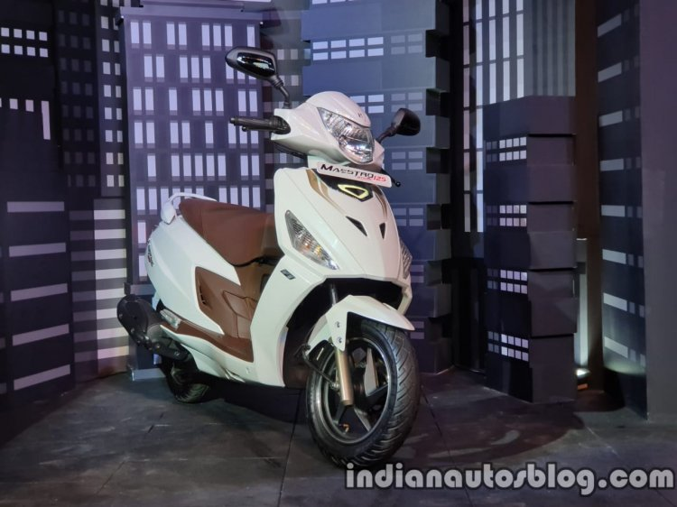 Hero Maestro Edge 125 Launched In India Right Fron